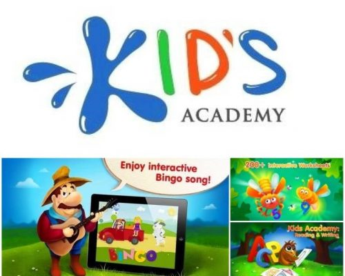 Kids Academy Apps Updated | Free Educational Apps + Printable Worksheets!