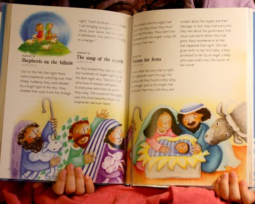 Read Me A Bible Story 365 Review/Giveaway
