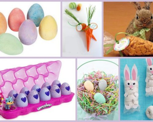 Non-Candy Preschooler Easter Basket Ideas