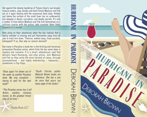 Hurricane in Paradise by Deborah Brown (Paradise Series Book 10) – Book Tour/Review