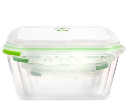 Ozeri INSTAVAC Nesting Food Container Set
